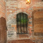 Entrance to one on the jail cells