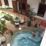 La piscine et le patio