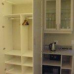 2 Person Cupboard, Digital Safe, Drinks Station & Cooler