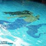 Centro de piscina