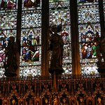 Stained glass window at Ripon Cathedral