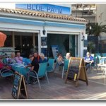 Afternoon Cocktails on the Paseo Maritimo Marbella Spain