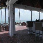 bar outdoor restaurant area