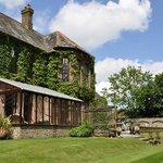 The beautiful garden to enjoy at Ratherton House