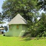 Various cabanas around property