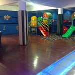 kids corner, play station room, cinema