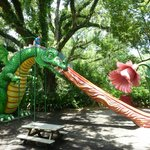 The crazy dragon slide