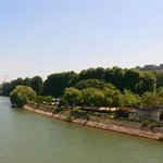View of island from Pont de Neuilly