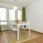 Deluxe Apartment Essbereich