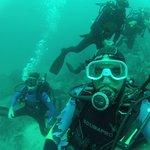 Deep water dive!