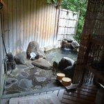 Private outdoor bath #2