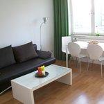 Standard Apartment Wohn-/Essbereich