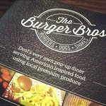 Burger Bros Menu Deal Kent