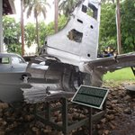 B26 bomber shot down