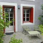 Notre petite terrasse privée