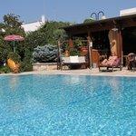 area giardino e piscina