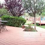 The Private Deck from the Room