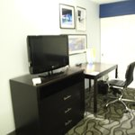 TV and work space