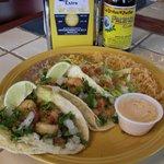 Baja Style Tiger Shrimp Tacos