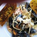 Seafood lingunie