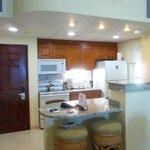 Unit 403A - 1 Bedroom Ocean-Front Unit - Kitchen