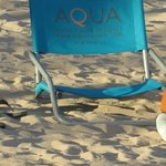 Free use of beach chairs.  Another way to save $$!