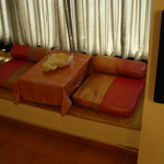 Super Deluxe room Lake view Bay Area with Traditional low sitting Arrangements