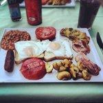Proper breakfast at Delboys!