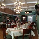 Governor Croswell Tea Room Interior