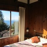 Our bedroom with a view of Osorno. (70487342)