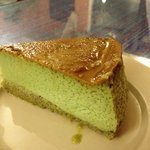 Pistachio Flan - made with real pistachios, a must try