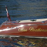 "Closeup of ""Miss Boathouse"""
