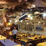 3 large rooms to dine in