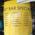 Daily Bar Specials at White Sands