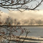 Loch Linnhe and a morning mist.