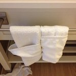 ...But this is the only (tiny!) towel bar!