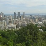 View from Mount Royal