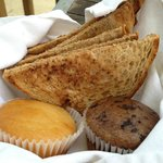 Breakfast Muffins and Toast