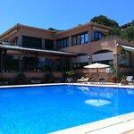Prespectiva piscina verano