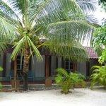 View of the hotel where we stay - Senari Bay Resort