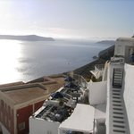 view in Fira to the sea