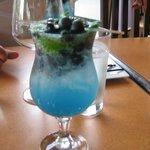 Blueberry mojito!!