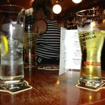 Drinks in the pub
