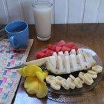 Parte del desayuno (hay más)