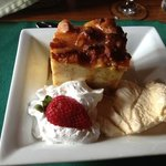 Bread Pudding with Caramel Sauce-Perfect Ending