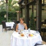 breakfast area at Roseto