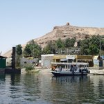 where you catch the ferry to cross the Nile