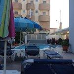 Ialysos City Hotel - pool area