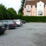 Good sized car park