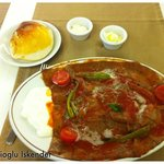 Wafer-thin iskender